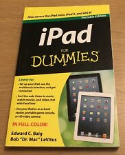 IPAD AS DUMMIES Portable Edition Book (Paperback)