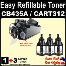 Refillable CB435A 35A CART312 312 Toner LBP3018 LBP3050 3100 3150 HP P1005 P1006