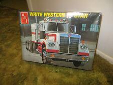VINTAGE(1970's) AMT T546 WHITE WESTERN STAR SEMI TRACTOR TRUCK, NO TRAILER