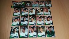 Panini Football Uefa Portugal Euro 2004 Bulgaria Player Stickers x21 Complete
