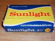 Vintage Seife aus der Schweiz  SUNLIGHT aus den 70er Jahren Kernseife OVP