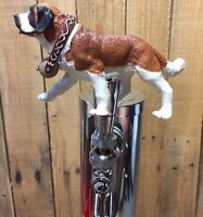 Saint Bernard Dog Beer Keg Tap Handle Kegerator Knob Pull AKC Breeder St