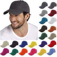 Men & Women Blank Baseball Cap Plain Bboy Snapback Hats Hip-Hop Adjustable SQ