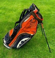Sun Mountain Superlight 3.5 Lightweight Golf Stand Bag - Orange/Navy Blue