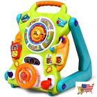 Baby Walker Kids Activity Sit To Stand 3 In1 Musical Learning Walker