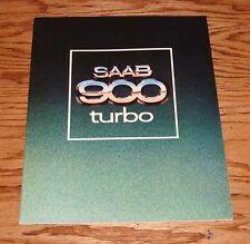 Original 1979 Saab 900 Turbo Sales Brochure 79