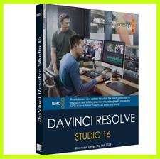 DaVinci Resolve Studio 16 for Windows 64Bit Full Version Lifetime✅Fast delivery✅