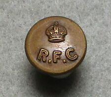 Ww I R.F.C. (Royal Flying Corps) Button, 13.5 mm, Found in Northern Virginia