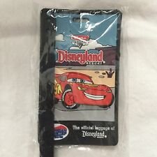 New Luggage Tag Disney Resort Rubber Cars Lightning Mcqueen American Tourister