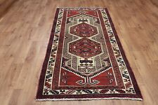 OLD WOOL HAND MADE PERSIAN ORIENTAL FLORAL RUNNER AREA RUG CARPET 142x100CM