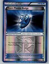 2013 pokemon Plasma Freeze reverse holo Team Plasma Badge 104/116