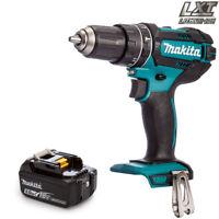 Makita DHP482Z LXT 18V Cordless Combi Drill Body With 1 x 5.0Ah BL1850 Battery