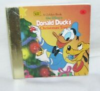 A Tiny Little Little Golden Book Donald Duck's Christmas Tree 1996 Life Saver