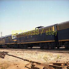 ATSF Santa Fe EMD F3B Unit #31 San Bernardino CA - Color Railroad Negative c1974