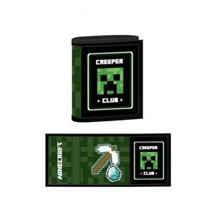 Astra 15235 Minecraft Geldbörse Geldbeutel Wallet Creeper Club NEU NEW