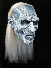 Officially HBO Licensed Game of Thrones White Walker Deluxe Full Head Latex Mask