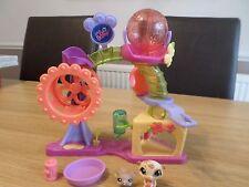 Littlest Pet Shop Hamster Aire de jeux bon état Free UK POST