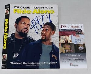 Ice Cube signed Ride Along DVD Cover autographed James Payton JSA