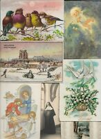 Happy Birthday Happy New Year Angel Birds and more Postcard Lot of 20    01.16