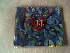 J.J. - IF THIS IS LOVE - 1991 UK CD SINGLE - JJ - JAN JOHNSTON