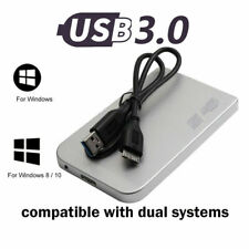 1x UK 1TB USB3.0 External Hard Drive Disks HDD 2.5'' Fit For PC Laptop Portable