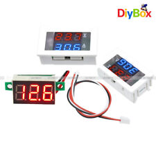 Digital Dual Redblue Led Display 4 30v100v 10a Voltage Voltmeter Ammeter Meter