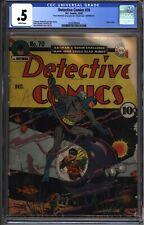 * DETECTIVE Comics #70 CGC .5 Classic Cover Batman Robin! (2028700004) *