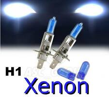 H1 55W XENON HEADLIGHT BULBS FIT BMW MODELS LOW & DIPPED + FREE 501'S