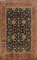 Floral Oushak All-Over Oriental Area Rug Wool Handmade Dining Room Carpet 9'x12'