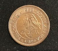 SOUTH AFRICA. 1/4 PENNY, FARTHING, 1958 Coin Collectable Condition