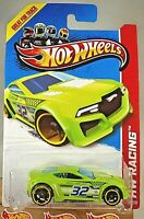 2013 Hot Wheels #111 HW Racing-Thrill Racers TORQUE TWISTER Green Variant wOH5Sp