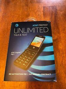 Alcatel CINGULAR SMART FLIP PHONE- 4GB - GRAY (AT&T) 4052R