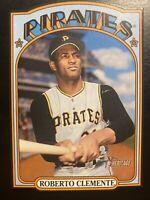 Roberto Clemente 2021 Topps Heritage 1972 DIE CUT 72DC-15 SSP Pittsburgh Pirates