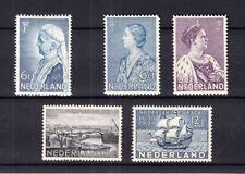 Nederland Crisiszegels, Curaçao en Emma 1934 ongebruikt