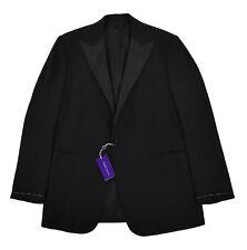 Ralph Lauren Purple Label Wool Cashmere Tuxedo Jacket Blazer 42 L New $4895