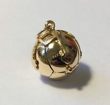 Large Masonic 9ct Gold and Silver Masons Ball Vintage Fob Pendant