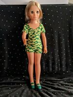"Ideal, Crissy Grow Hair's friend ""Kerry"" 18"" Plastic, 1970, Crissy Family Doll"