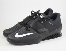 Nike Romaleos 3 Weightlifting Cross-fit Shoe Black White 852933-002 Size 15