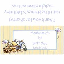 Winnie the Pooh Candy Bar Wrappers/Birthday Party Favors