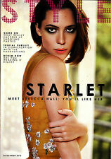 STYLE Magazine 20 October 2013 STARLET: REBECCA HALL Sisters Kardashian @NEW@
