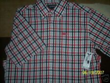 Avirex NWT Button-Front  Shirt Size M RV $40 NEW