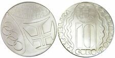 Olympic Games Athens 2004 Unc Silver 10 Euros coin Jogos Olimpicos Portugal