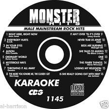 KARAOKE MONSTER HITS CD+G MALE MAINSTREAM ROCK HITS  #1145