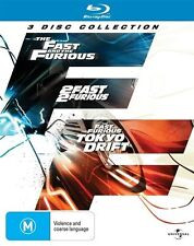 The Fast and the Furious - 3 DISC COLLECTION, Brand New & Sealed