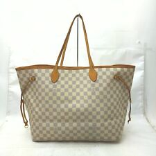 Louis Vuitton Tote Bag Neverfull GM Azur N51108 White Azur 630355