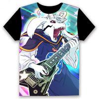 Undertale Asriel Dreemurr Unisex T-shirt HD Printing Cosplay Tee Tops#64F38