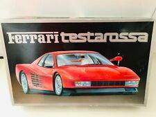 Fujimi Ferrari Testarossa 1/16 Scale Plastic Model Kit Japan 1985