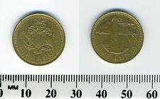Barbados 1994 - 5 Cents Brass Coin - South Point Lighthouse