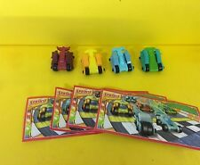 Kompletts. Transformers Cars  EN025 EN027 EN139 EN140 m. BPZ Schlümpfe in City