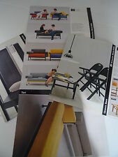 Möbel Design Bonacina Meda Italia Prospekt Katalog Messekatalog 80er Jahre